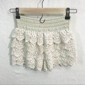 ✨3/20$ Exist Crochet Lacey Shorts